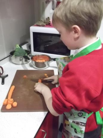 Carrot slicing